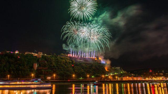 4 Tage Rhein in Flammen in Rüdesheim – Bingen